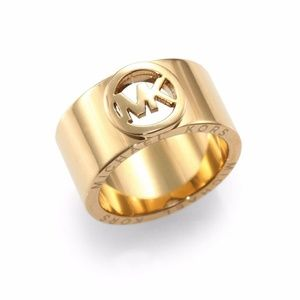 New Michael Kors Gold Ring Size 6